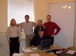 2007 with Oleg Volkov teaching