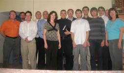 fall 2009 with Mahons_Seminary Class